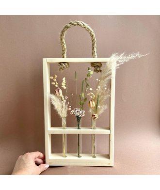 Рамка  с сухоцветами (стаб. цветы)