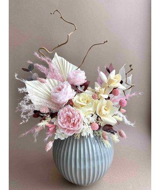 Композиция «Счастье» (стаб. цветы)