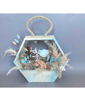 Композиция «Морское путешествие» (стаб. цветы)