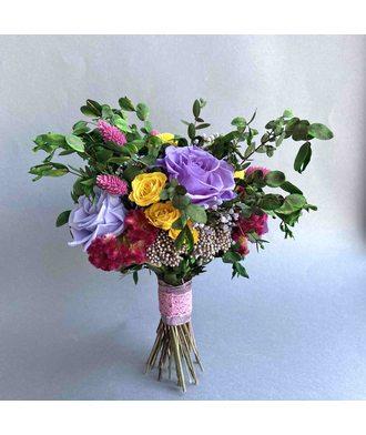 Букет «Нирвана» (стаб. цветы)