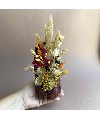 Композиция «Осенний комплимент» (сухоцветы)