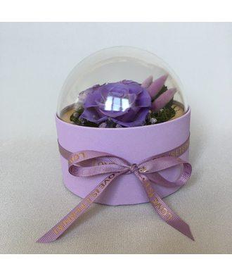 Коробочка-купол 2 (стаб. цветы)