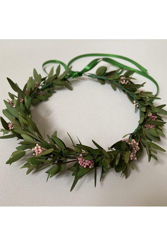 Веночек из эвкалипта (стаб. цветы)