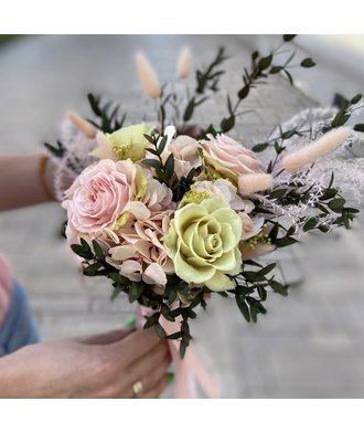 Букет «Нежная свежесть» (стаб. цветы)