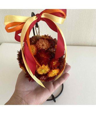 Осенний поцелуй (стаб. цветы)