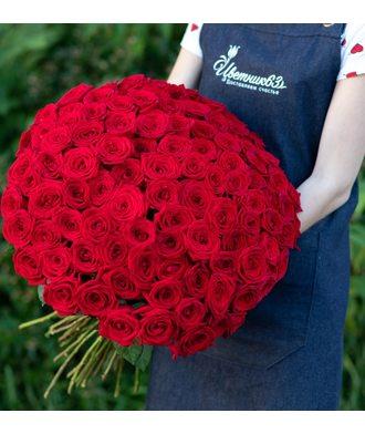 101 роза 60-70 см