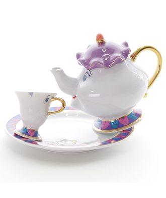 Чайный набор - «Красавица и чудовище» с тарелкой