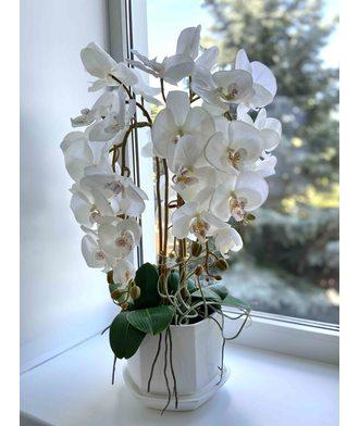 Орхидеи (искусств. цветы)