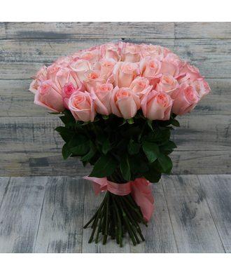 Букет из 51 розовой розы Эквадор
