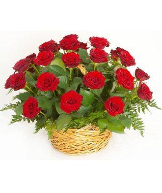 Корзина 50 роз