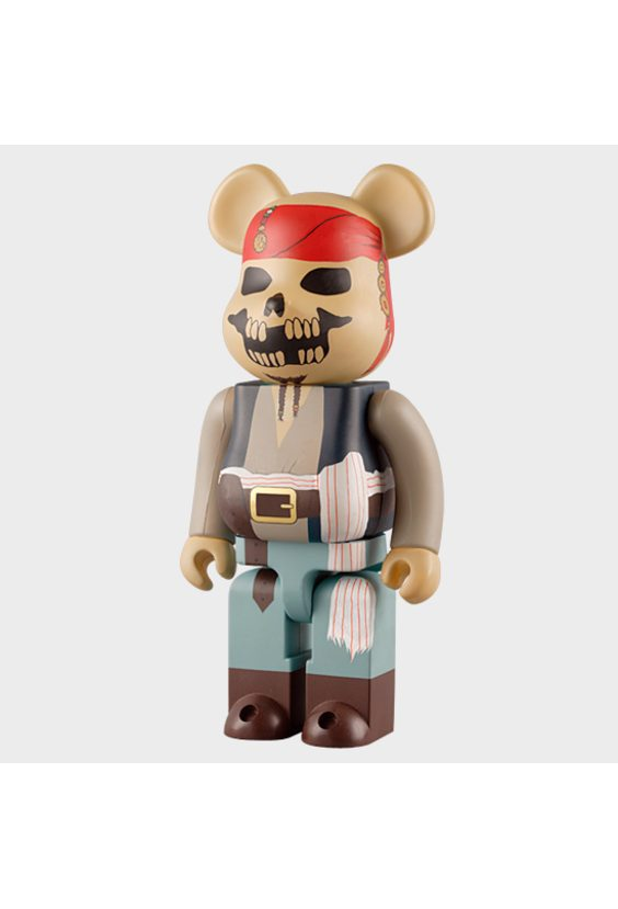 Bearbrick Pirates of the Caribbean 400%