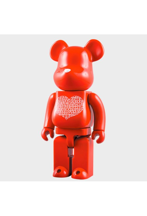 Bearbrick International Love Heart 400%