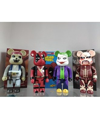 Bearbrick Attack on Titan 400%