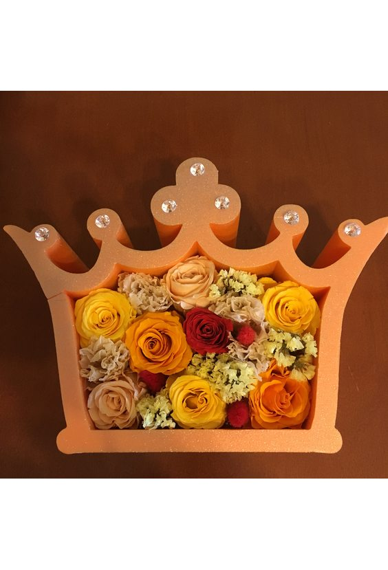 Моей королеве (стаб. цветы)