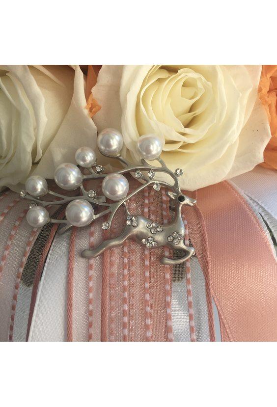 "Букет невесты ""Шарм"" (стаб. цветы)"