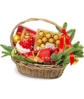 Корзина «Новогоднее счастье»
