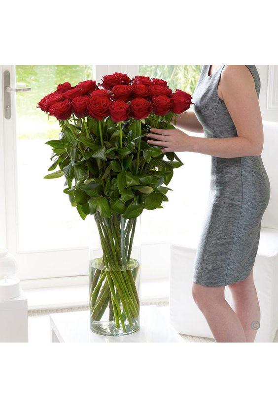 19 шт. метровых роз