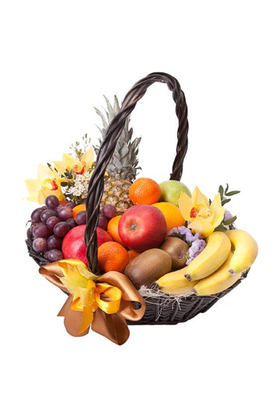 """Корзина фруктов """"Яркий вкус"""""""