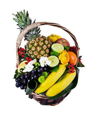 """Корзина фруктов """"Фруктовое удовольствие"""""""