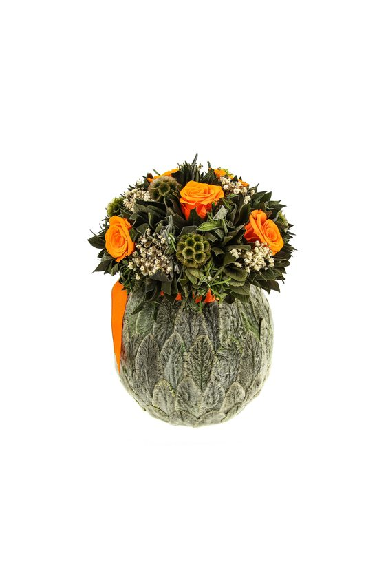 Бомбоньер 7 (стаб. цветы)
