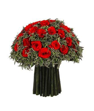Композиция из лаванды 4 (стаб. цветы)