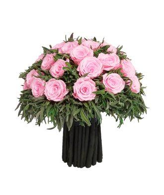 Композиция из лаванды 2 (стаб. цветы)