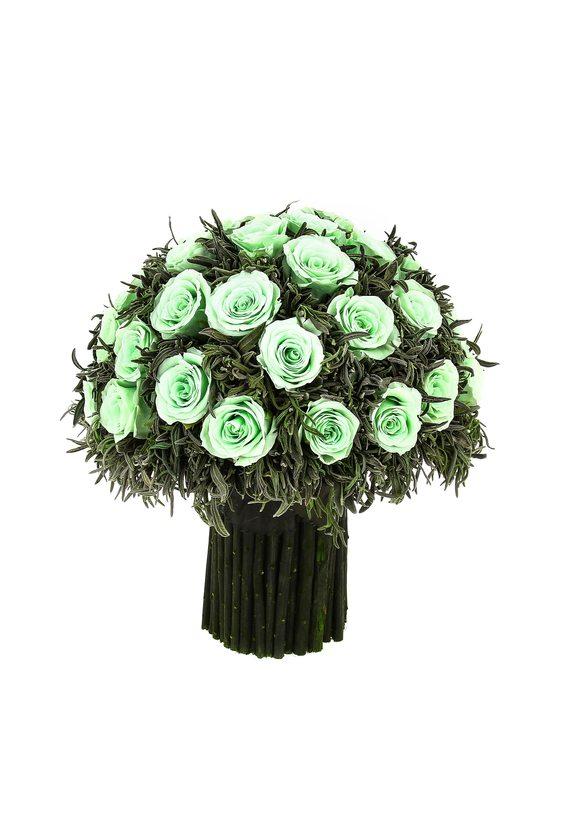 Композиция из лаванды 8 (стаб. цветы)