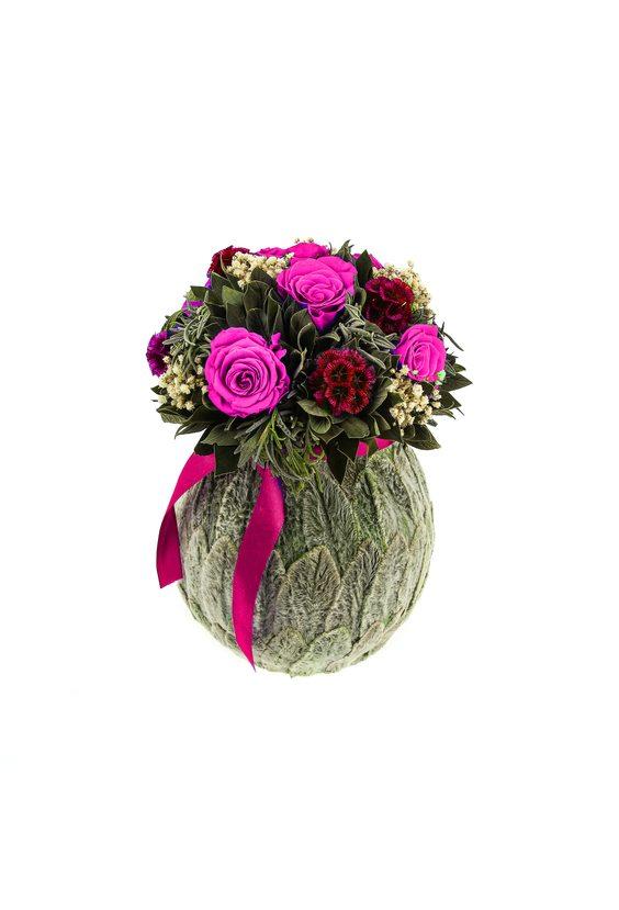 Бомбоньер 9 (стаб. цветы)