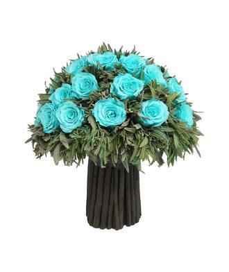 Композиция из лаванды 3 (стаб. цветы)