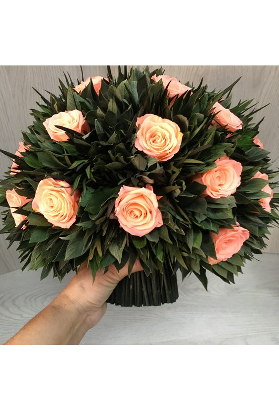 Большой букет 11 (стаб. цветы)