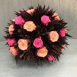 Большой букет 5 (стаб. цветы)