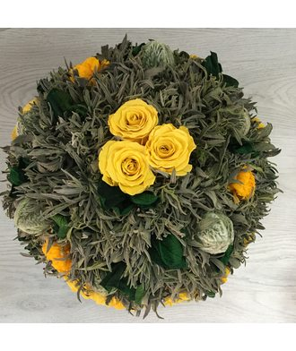 Большой букет 1 (стаб. цветы)