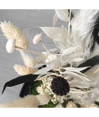 Белый вальс (стаб. цветы)