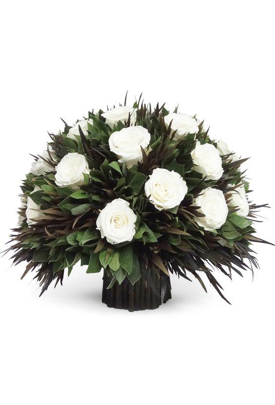 Большой букет 44 (стаб. цветы)