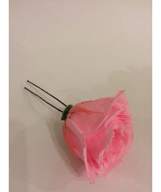 Шпилька для волос из стабилизированных цветов
