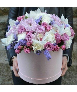 """Коробочка с цветами """"Романтика"""""""