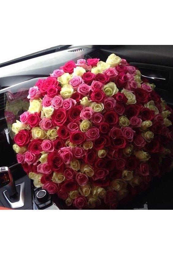 Букет № 25, 101 роза Голландия