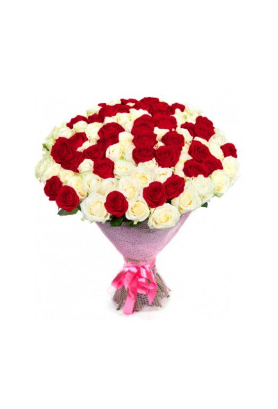 Букет № 38, 51 роза
