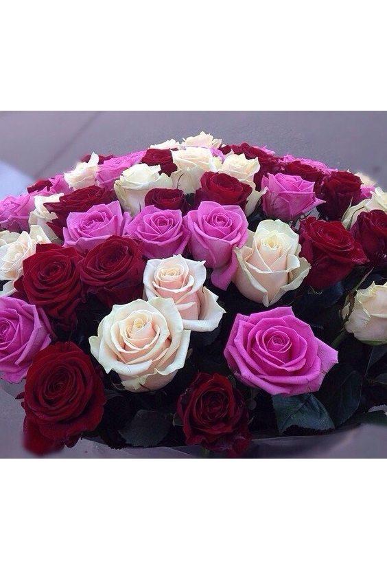 Букет № 30, 51 роза