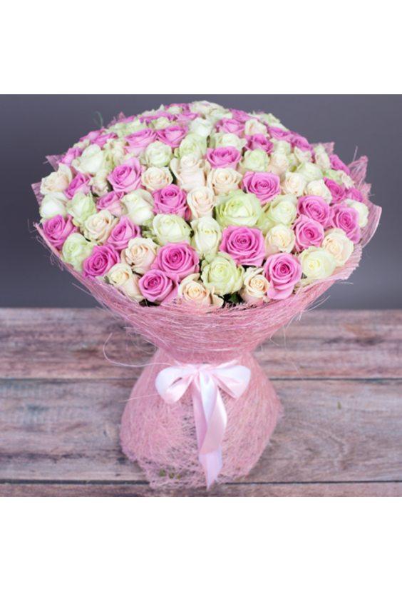 Букет из 101 розы №3