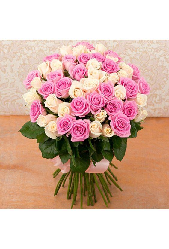 Букет из 51 розы «Самая нежная»