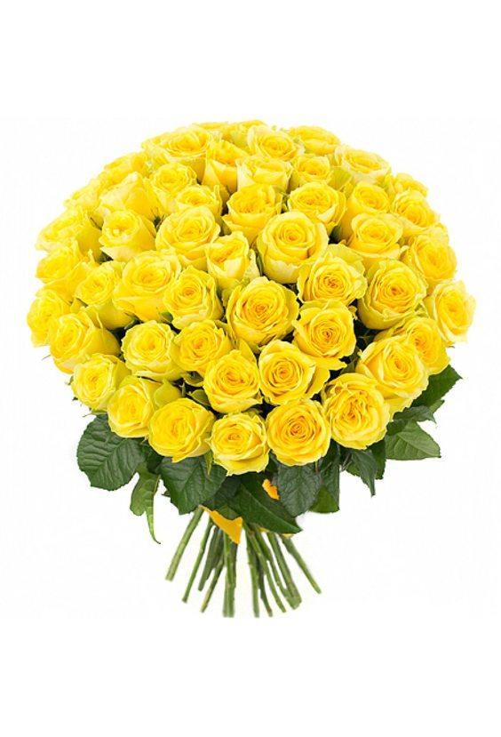 Букет из 51 солнечной розы