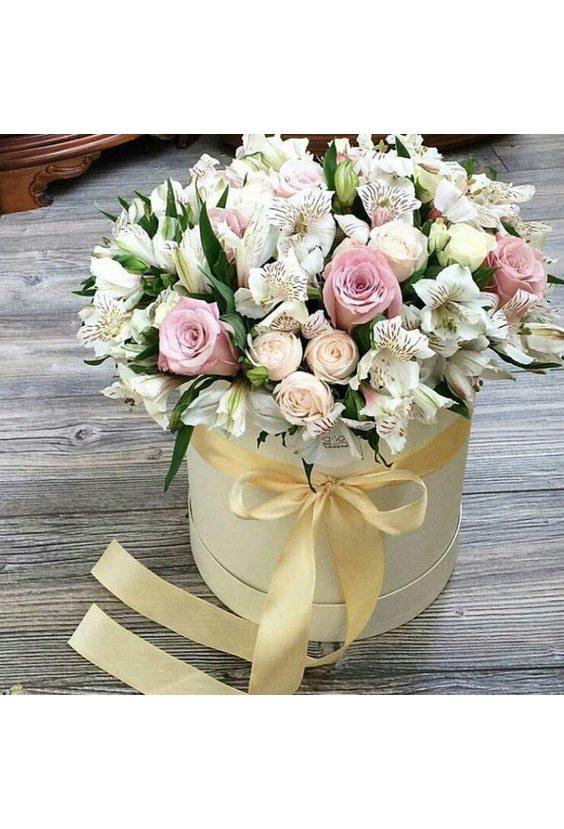Коробочка с цветочками