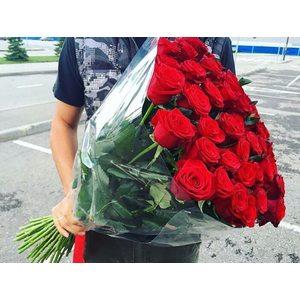 Букет из 25 роз Эквадор (60 см)