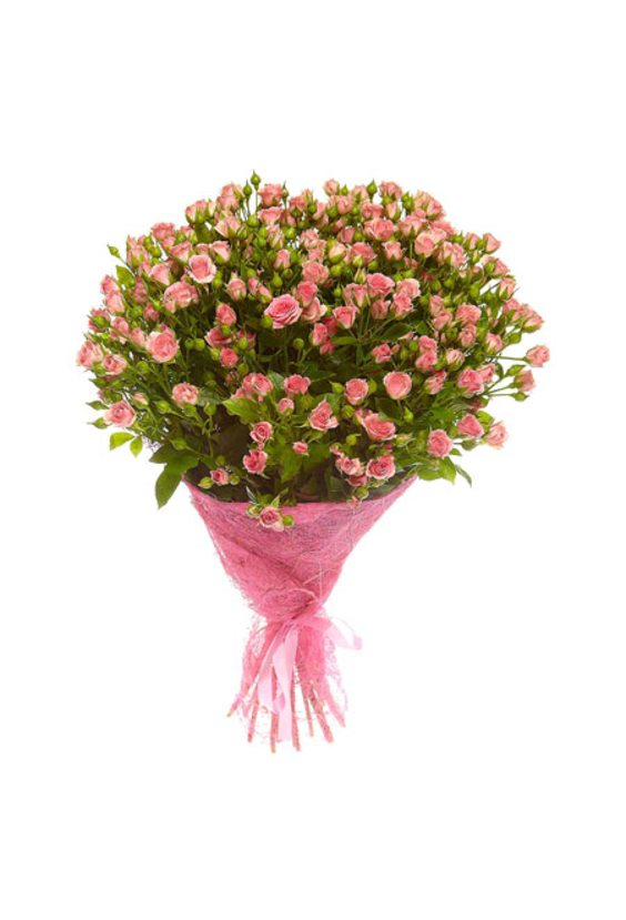 Букет 19 кустовых роз