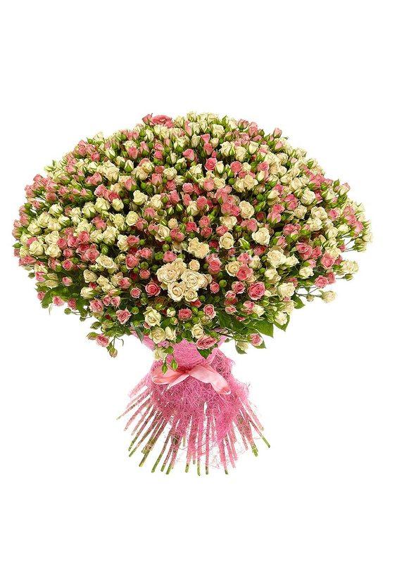 Букет 50 кустовых роз