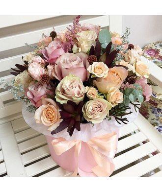 """Цветы в коробке """" Осень"""""""