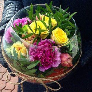 Цветы в вазе №1