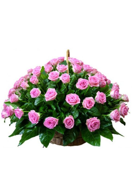 Корзина 51 роза