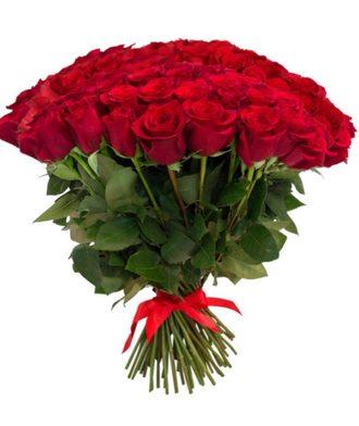 Букет из 101 розы Эквадор (60 см)